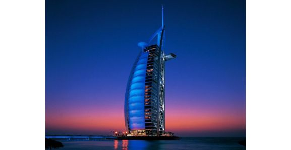 Dubai Night City Tour Burj al Arab